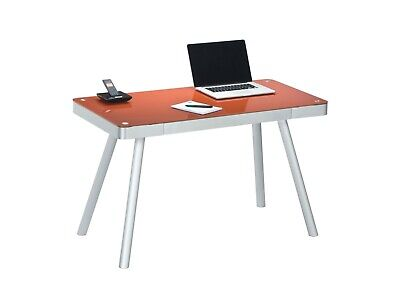 Glas Modern Schreibtisch (moderner Schreibtisch Glas Computertisch PC-Tisch Büromöbel Bürotisch design )