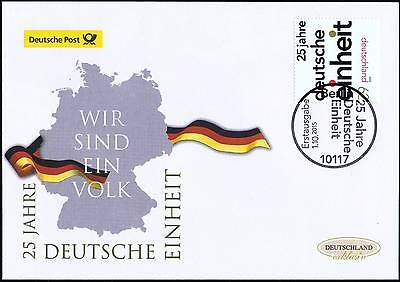BRD 2015: Deutsche Einheit 25 Jahre! Post-FDC Nr. 3182 mit Berliner Stempel 1610