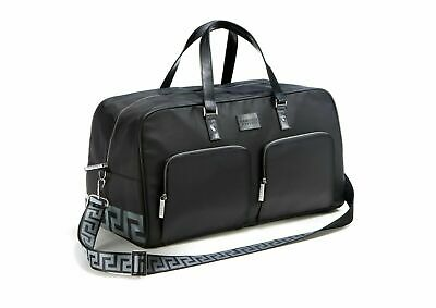 Versace Large Black weekend/ travel bag.  Brand New with own dust jacket.