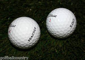 24 AAA Titleist Pro V1x Practice/X-Out Mix Used Golf Balls