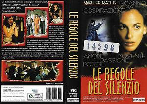 LE-REGOLE-DEL-SILENZIO-1999-vhs-ex-noleggio
