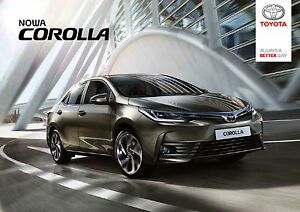 Toyota Corolla 11 / 2016 catalogue brochure MY 2017 facelift 52 p. - <span itemprop='availableAtOrFrom'> Varsovie, Polska</span> - Toyota Corolla 11 / 2016 catalogue brochure MY 2017 facelift 52 p. -  Varsovie, Polska