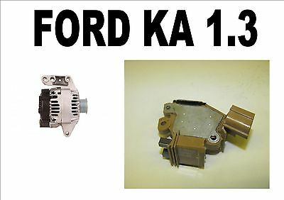 FORD KA 13 HATCHBACK BOX 2002   08 NEW ALTERNATOR REGULATOR