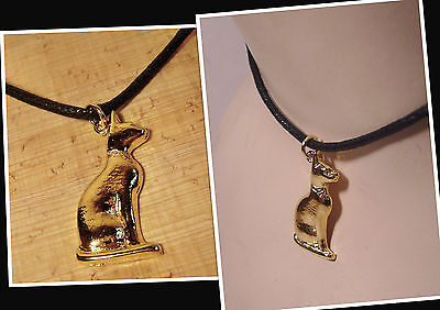 Museums Replik Katze Bastet Amulett 26. Dynastie Ägypten ca 332 BC