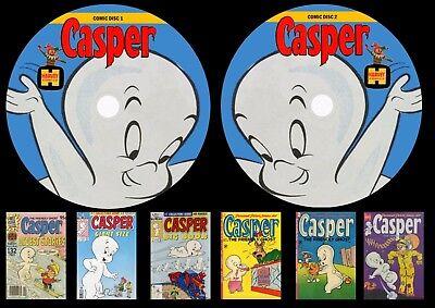 Casper Comics On Two DVD Rom's