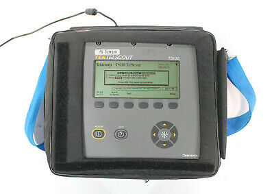 Tektronix Tempo Telscout Ts100 Tdr Cable Tester For Telephone Applications