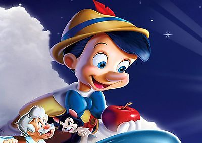 PINOCCHIO A3 GLOSSY POSTER 1