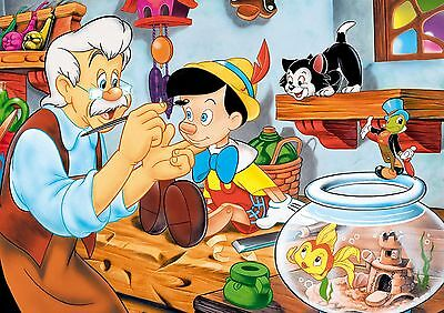 PINOCCHIO A3 GLOSSY POSTER 2