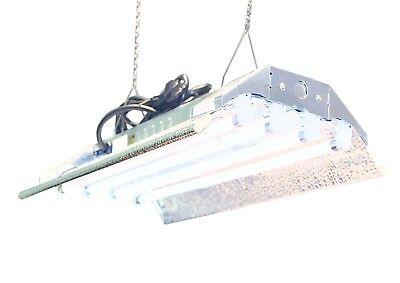 T5 HO Indoor Grow Light - 2 FT 4 Lamps DL824 Fluorescent Hydroponic Fixture Veg