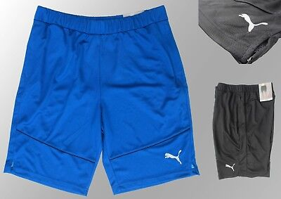 Mens Puma  Essential Woven Performance Shorts Gym Trainning Blue Black L XL XXL