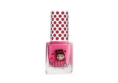 Miss Nella Non Toxic, Peel Off Pink A Boo Children Nail Polish, Best For Kids