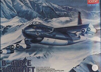 ACADEMY HOBBY 1/144 B-47B/E STRATOJET US AIR FORCE MODEL KIT BOXED 4443