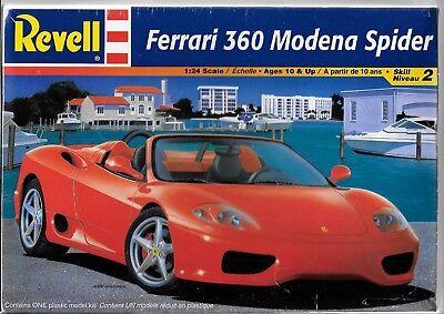 Revell Ferrari 360 Modena Spider in 1/24 2365