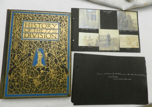 1919, History of the 77th Division, 1917-1918, HB 1st PLUS ORIGINAL 306th PHOTOS