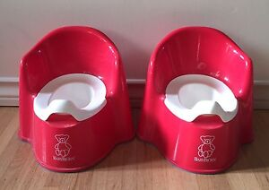 Baby Bjorn potty chairs (red)