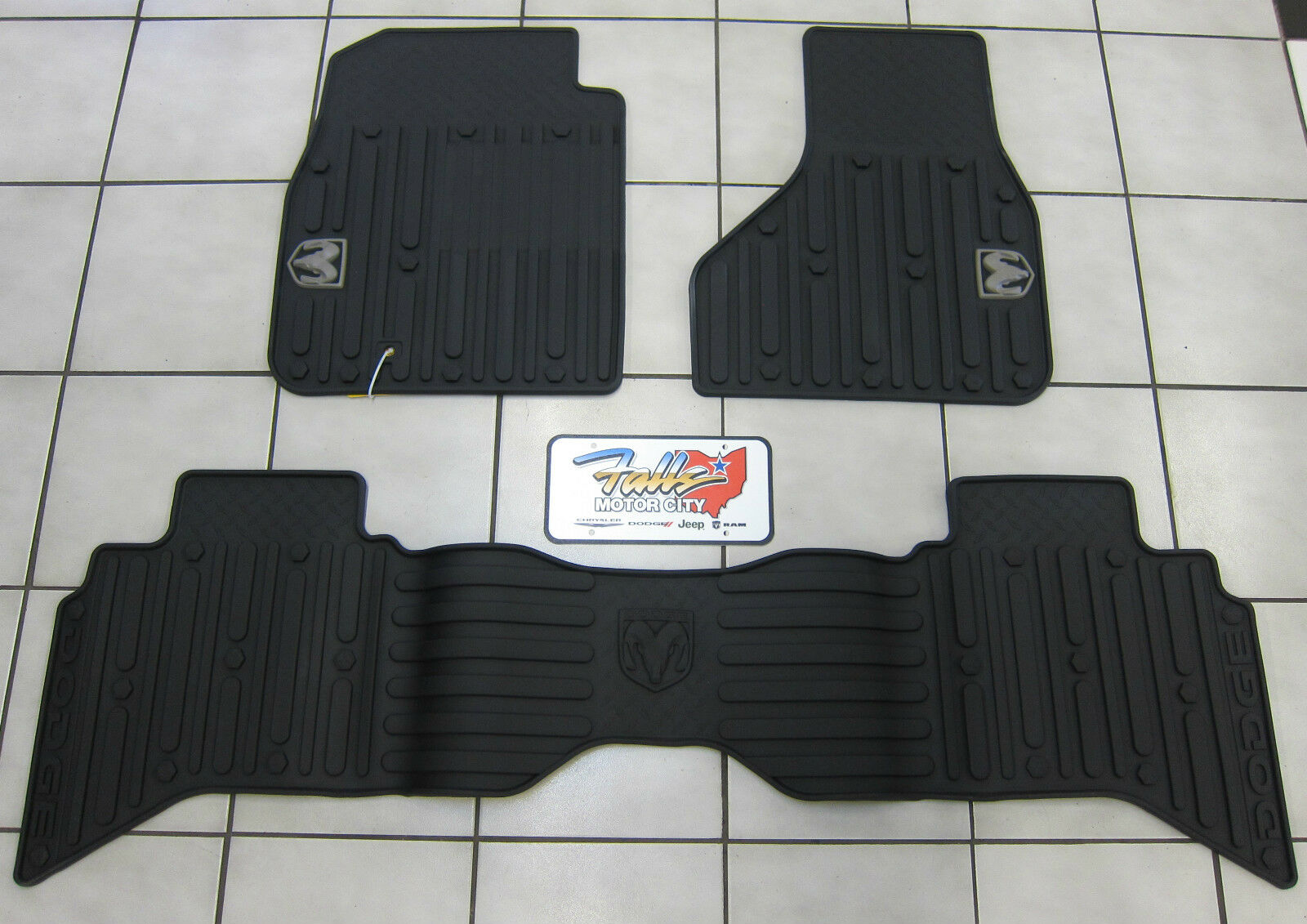 2009 2012 Dodge Ram Quad Cab All Weather Rubber Slush