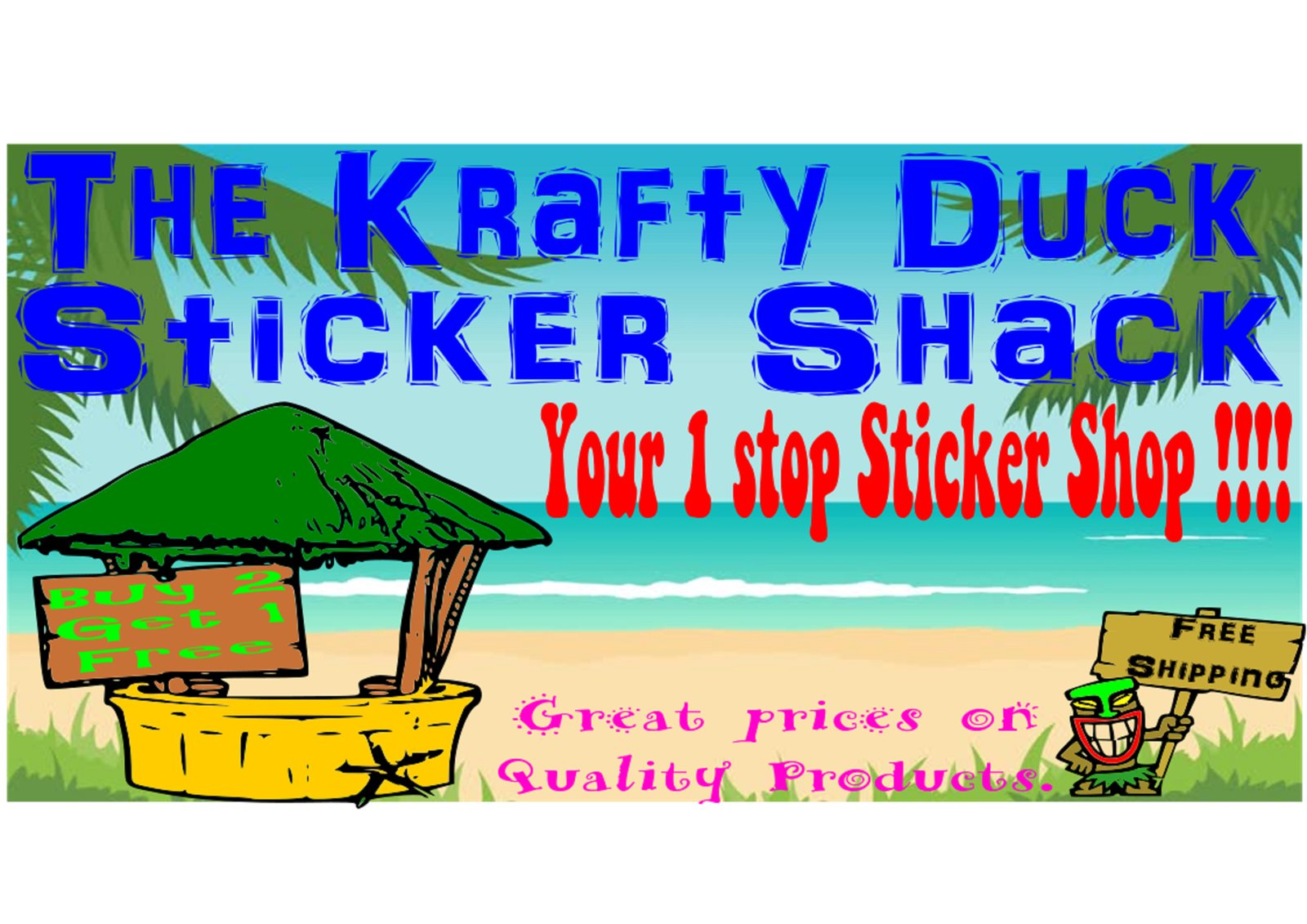 The Krafty Duck Sticker Shack