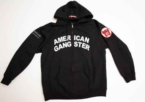 American Gangster Full Zipper Hoodie -  Russell Crowe Crew Gift