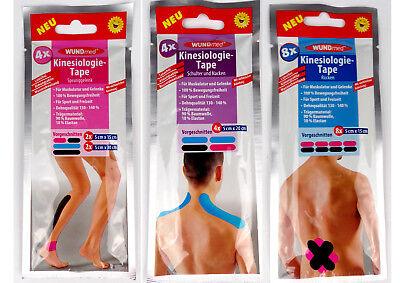 Kinesio Tape Schulter (Kinesiologietape 8er Rücken 4er Sprunggelenk 4er Schulter,Nacken Kinesio Tape )