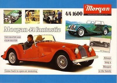Morgan 4/4 1600 1968  Car Jumbo Fridge Magnet