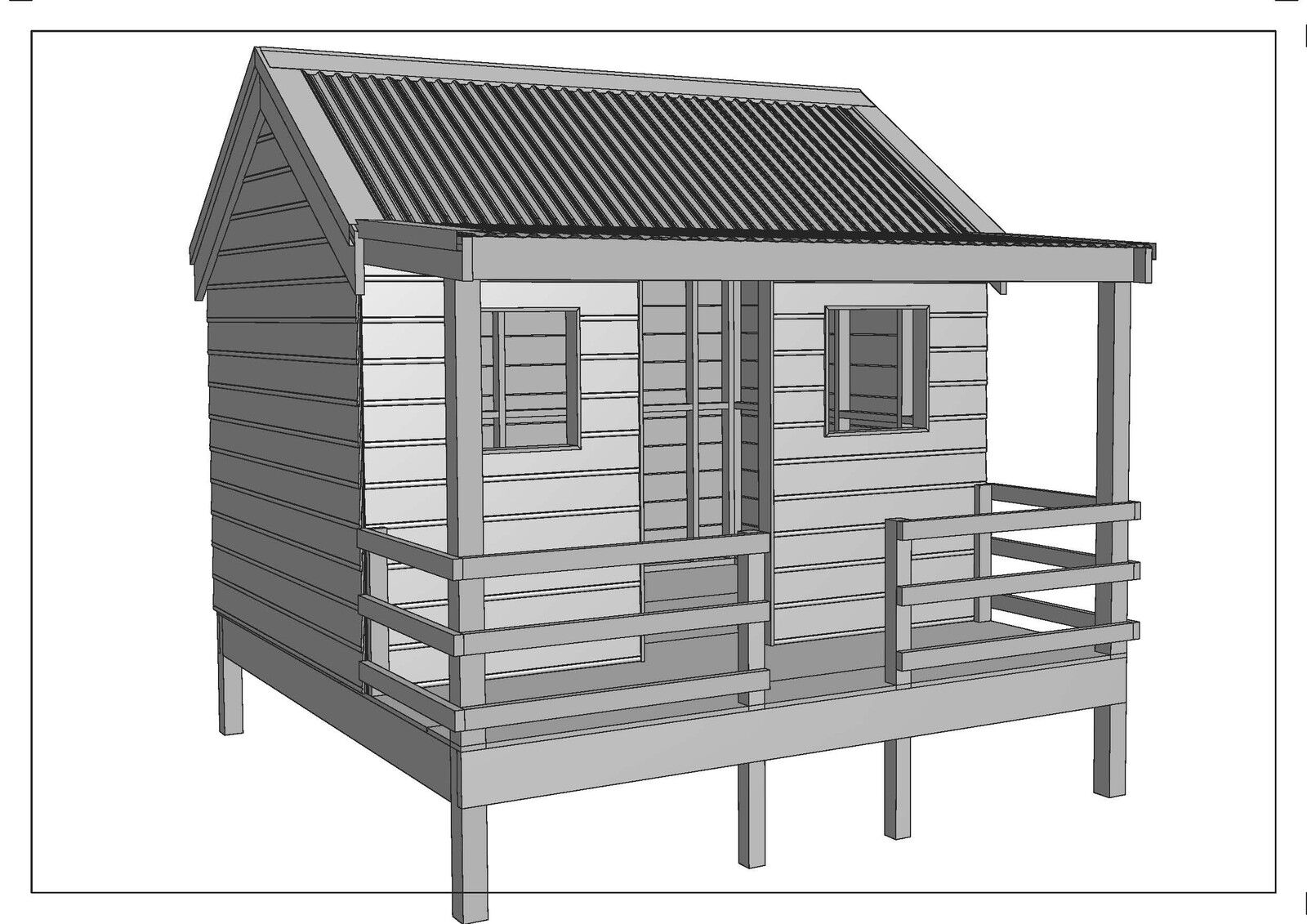 cubby house The lifespan kids cubby houses are intended to provide a safe and healthy setting for your kids if you're after a cubby house for your backyard and you want one that is designed with safety and quality in mind, then look no further than lifespan kids we support a healthy and active lifestyle for australian families and all of our cubby houses provide exactly that.