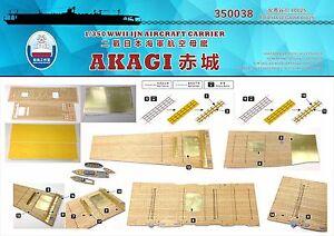 Shipyard 350038 1/350 Wood Deck IJN Akagi for Hasegawa