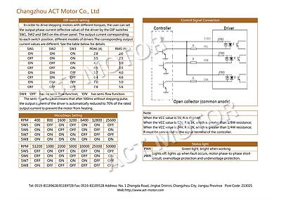 1 Achse CNC Kit 12Nm Nema 34 Schrittmotore 5.2A /& Digitaler Schrittmotor Treiber