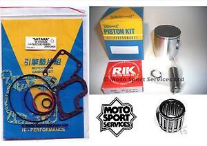 SUZUKI-RM-85-02-15-Mitaka-Reconstruir-Extremo-Superior-Kit-de-pistones-C-JUNTA