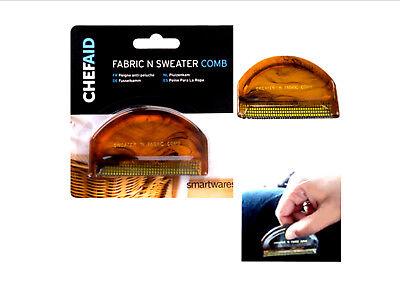 Chef Aid Fabric Comb Sweater Coat Jumper Dress Comb Removes Fluff Dust & Hair