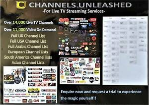 Over 14,000 Live IPTV Channels Worldwide TV Box