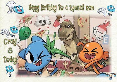 Personalised birthday card gumball daughter sister  grandaughter son Grandson](Gumballs Sister)