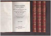 Istruzioni Parrocchiali Per Tutte Le Domeniche - Chevassu - 1833 - 4 Volumi -  - ebay.it
