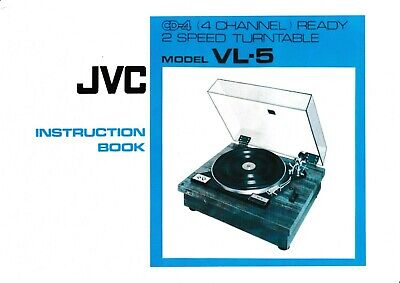 Tv, Video & Audio Bedienungsanleitung-instruction Book Für Jvc L-e600