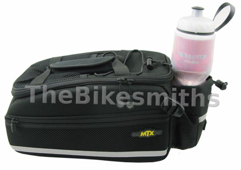 Topeak TT9646B MTX EX Rigid Trunk Rack Bike Bag QuickTrack System 480ci