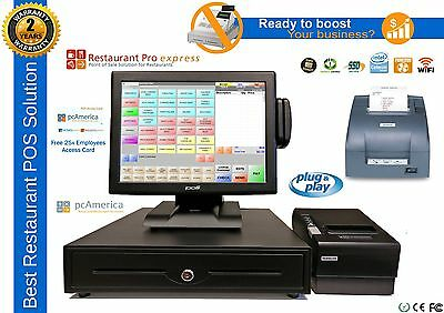 All-in-one Point Of Sale Complete System Restaurant Bar Night Club