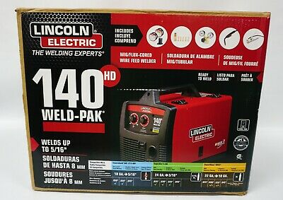 Lincoln Electric Weld Pak 140 Hd K2514-1 Wire-feed Welder New In Box