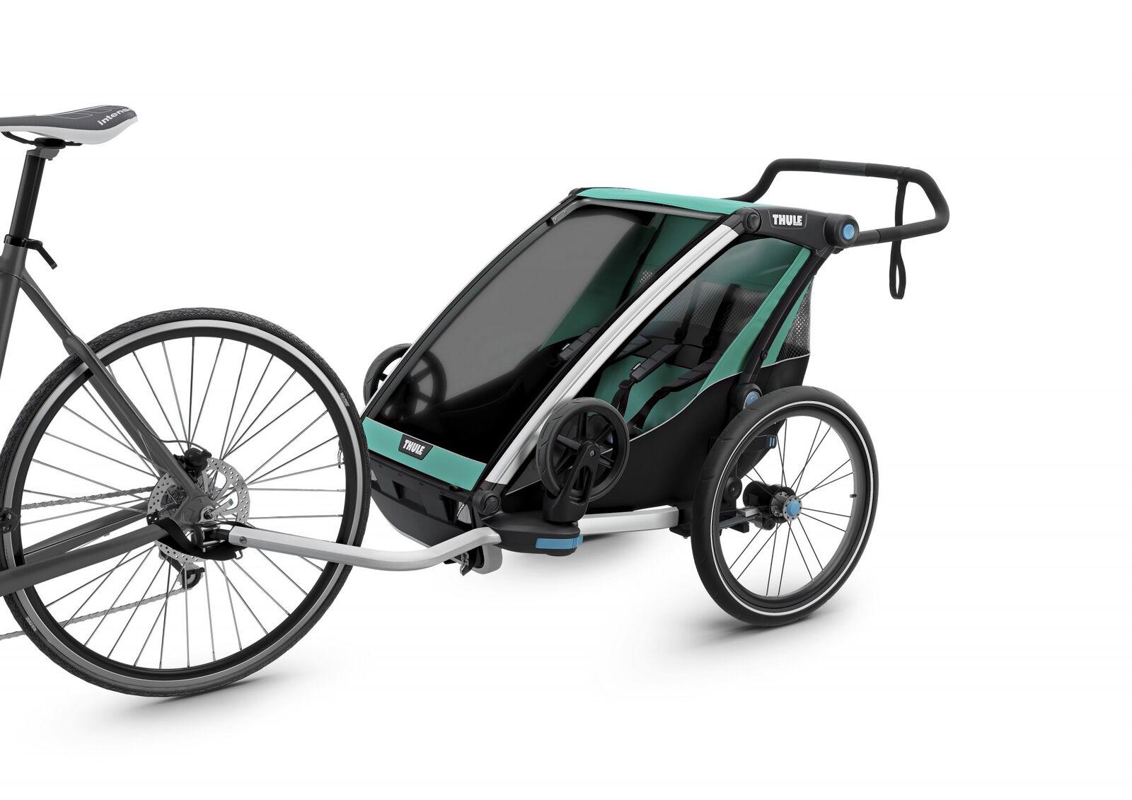 Thule Fahrradanhänger Chariot Lite 2 Kinderanhänger Kinderwagen Sport