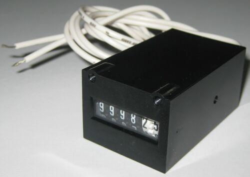 KEP Electro Mechanical Compact 6 Digit 05 Step Counter - 120 V AC - KE610F 10CPS