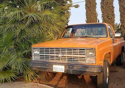 1984 Chevrolet K20 Pickup Custom Deluxe 4WD 3/4 Ton Pickup Truck 1984 Chevrolet K20  4WD 3/4 Ton Pickup Truck