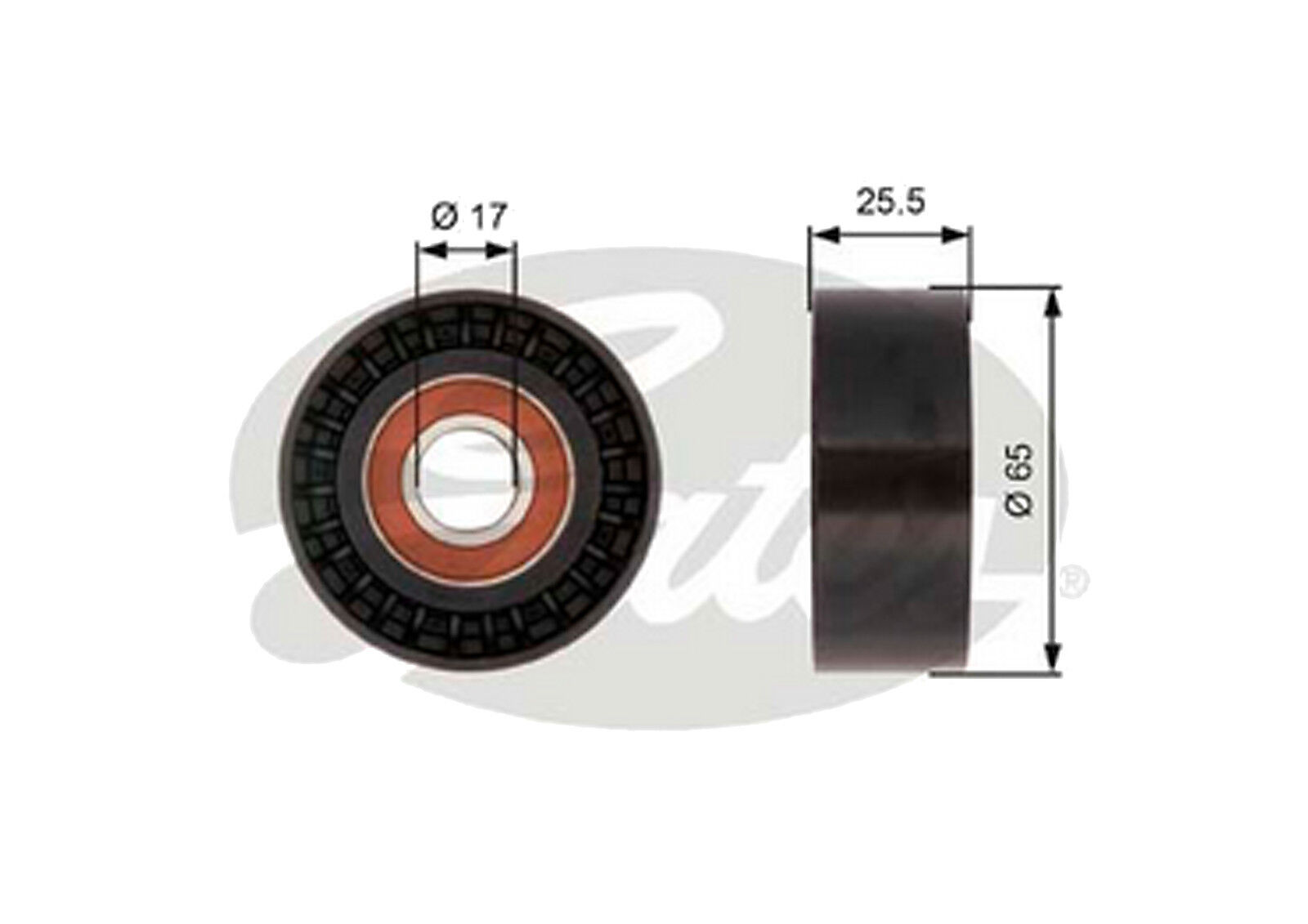 Part No T36394 GATES DRIVEALIGN IDLER
