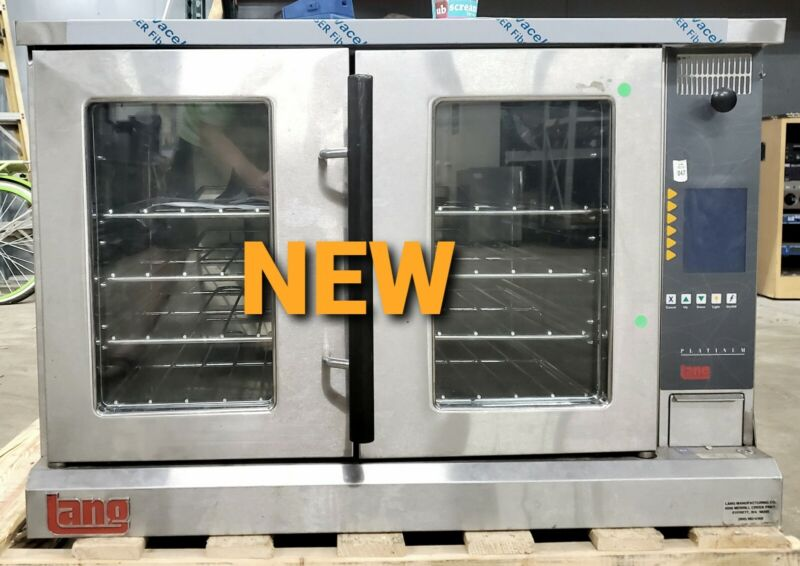 NEW LANG FULL SIZE Electric Computerized Convection Oven Model ECCO-PT