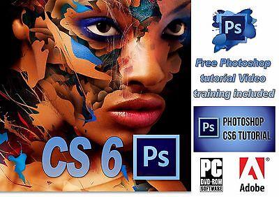 Adobe Photoshop CS6 + Bridge CS6 Photo Software for Windows !!!!