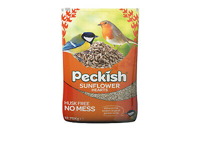 Peckish Sunflower Hearts - High Energy Bird Food - Husk Free - 12.75kg