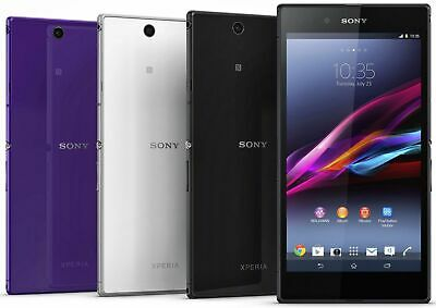 "Sony Xperia Z Ultra C6833 16GB WIFI GSM Unlocked 6.4"" 4G LTE 8MP Quad-core Phone"