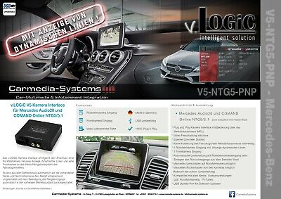 Kamera Interface Mercedes Comand Online Audio20 NTG5 NTG5.1 GLA X156 GLC X253