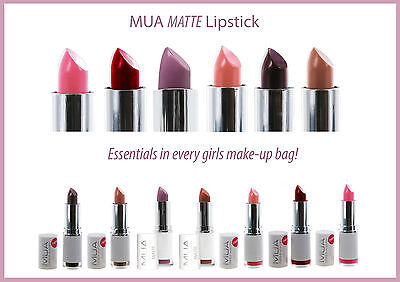 Mua Makeup Akademy Matt Lippenstift Scarlet Siren Rot Peachy Keen Nackt Pink
