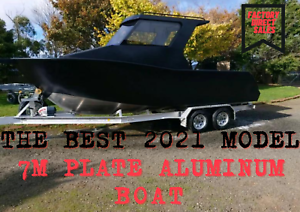 THE BEST !! Brand New 7m Aluminum Boat, Factory Direct from $28900 !!!