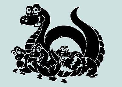 Schablone**DINOSAURIER **für Stoffe, Möbel,Torten,Wände, usw. ** Nr.: 887 Dinosaurier Schablonen