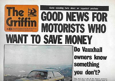 1973 Vauxhall newsletter: Viva, Magnum, Firenza, Victor, VX4/90, Ventora + news