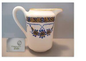 beau pot a lait ancien art deco en porcelaine de limoges ebay. Black Bedroom Furniture Sets. Home Design Ideas